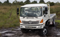 HINO ANSWERS EMERGENCY CALL  WITH IMPROVED 500 GT 4X4
