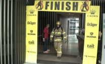 FIRE-TRUCK IT! SCANIA THROWS SUPPORT BEHIND FIREMAN'S STAIR CLIMB FUND RAISER