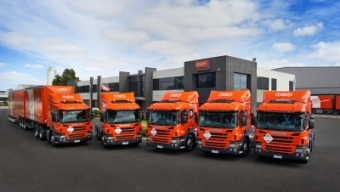 TNT WITH FIRST EURO 6 TRUCK FLEET