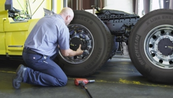 MICHELIN INTRODUCES TRUCK TYRE AUTOMATIC INFLATION SYSTEM