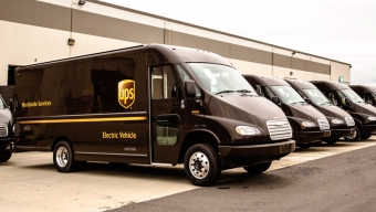 UPS Goes Down Electric Path To Save