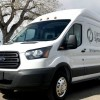 ELECTRIC TRANSIT VAN ARRIVES IN THE  US
