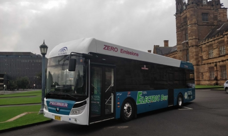 EXCLUSIVE – ELECTRIC BUS TRIAL SET TO START IN INNER WEST OF SYDNEY