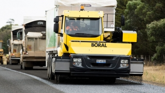 BORAL AND IVECO SPREAD THE GOOD NEWS
