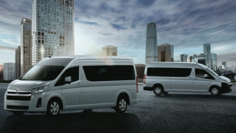 TOYOTA REVEALS PRICING OF UPCOMING NEW HIACE