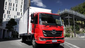 HINO LANDS NEW 500 SERIES STANDARD CAB IN AUSTRALIA