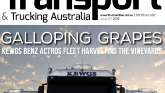 TRANSPORT & TRUCKING AUSTRALIA ISSUE 124 OUT NOW