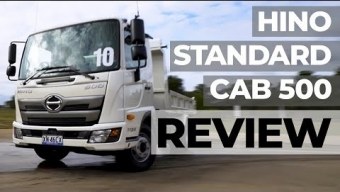 VIDEO REVIEW- HINO STANDARD CAB 500