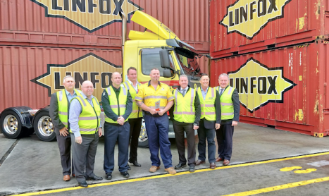 LINFOX DRIVER NAMED AS A HIGHWAY GUARDIAN