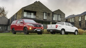 SSANGYONG DELIVERS EXTRA LENGTH IN MUSSO XLV