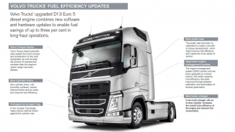 FUEL SAVINGS FROM SOFTWARE SAYS VOLVO