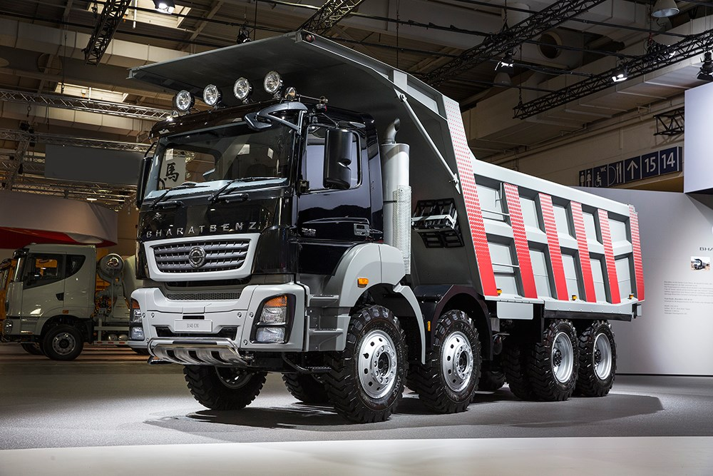 Bharatbenz Gains Traction Truck Amp Bus News