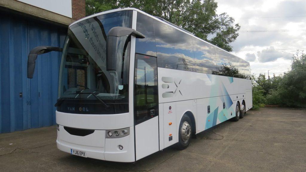 Van Hool Bus >> A Sweet Belgian Treat From Van Hool At Bus Show Truck Bus News