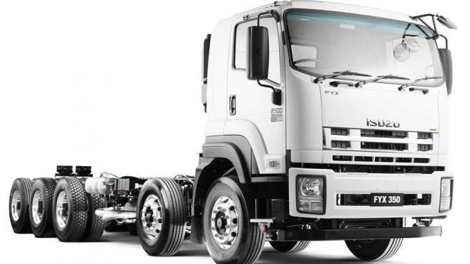 Isuzu Updates FX And FY Heavy Truck Range
