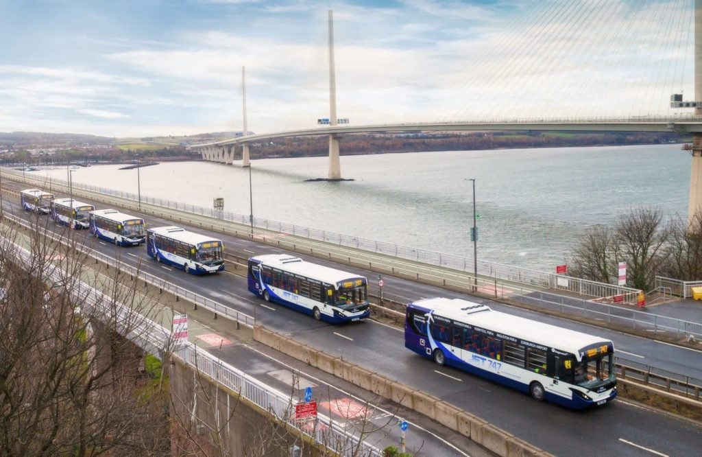 SCOTLAND THE BRAVE - EDINBURGH TRIALS AUTONOMOUS BUSES