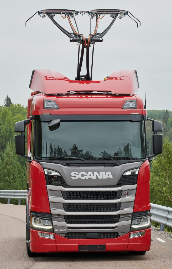 SCANIA PLUGGED INTO GERMAN e-HGHWAY TRIAL - Truck & Bus News
