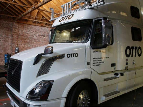 Uber buys autonomous truck start up