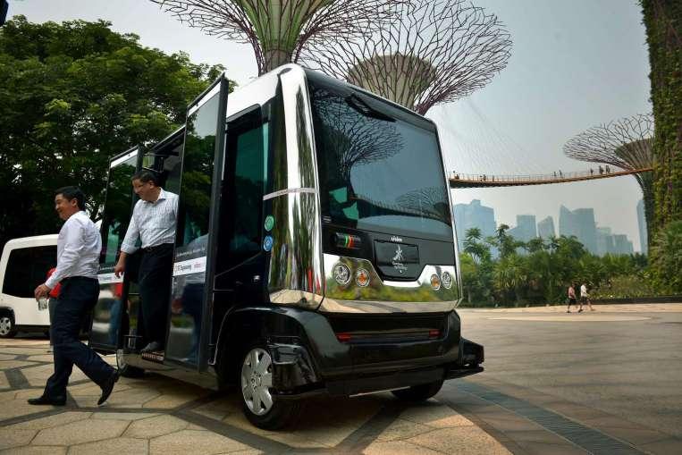 Autonomous Bus Singapore