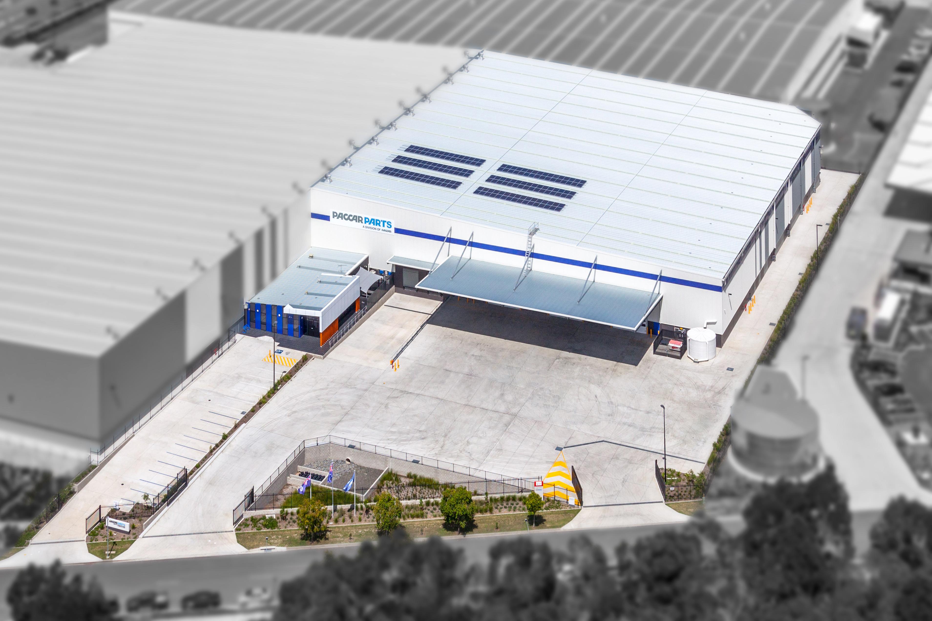 Brisbane Distribution Centre – Ariel View