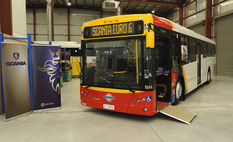 Scania DPTI 340 bus sign 35 low res