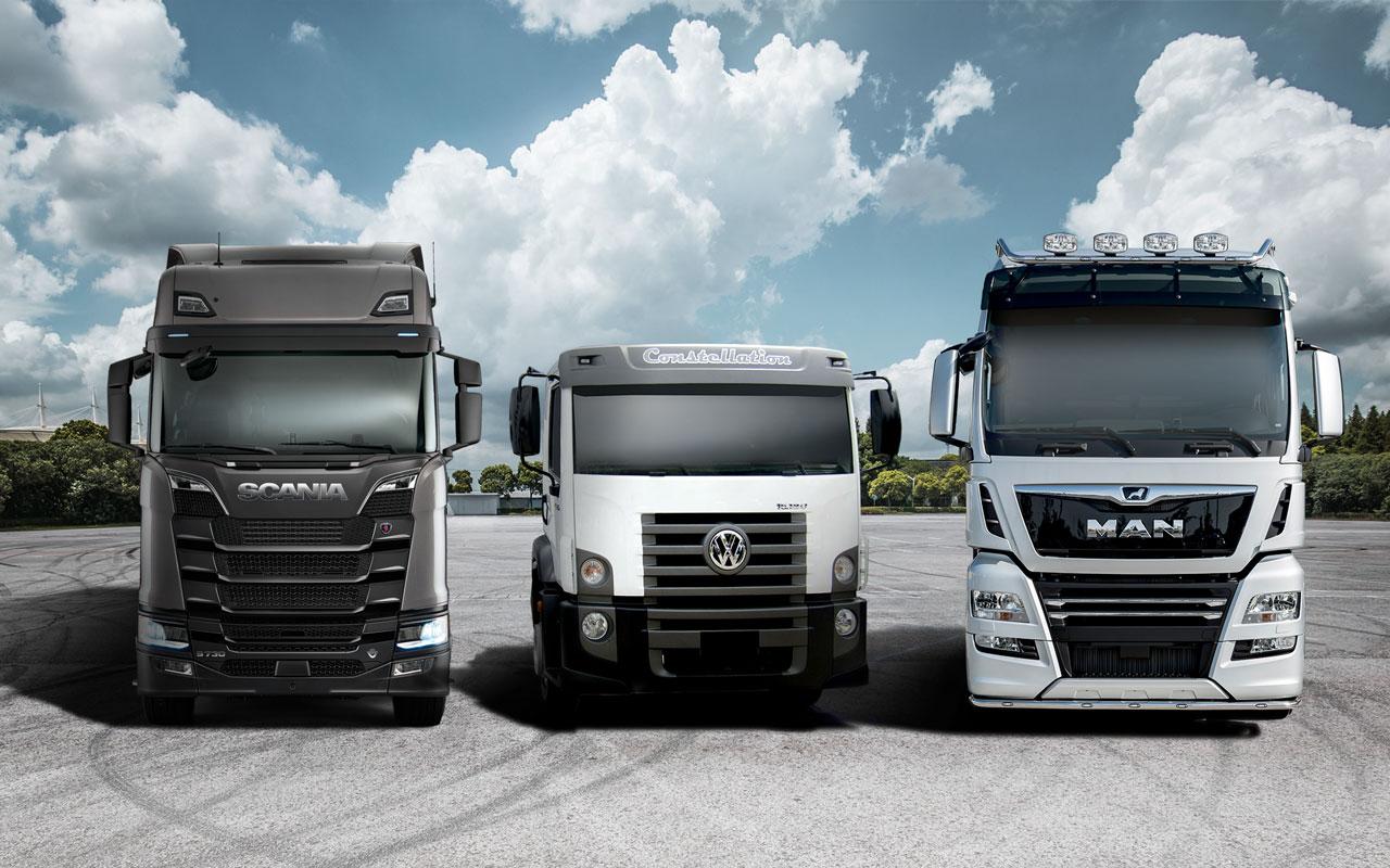 Traton TrucksFotocollage