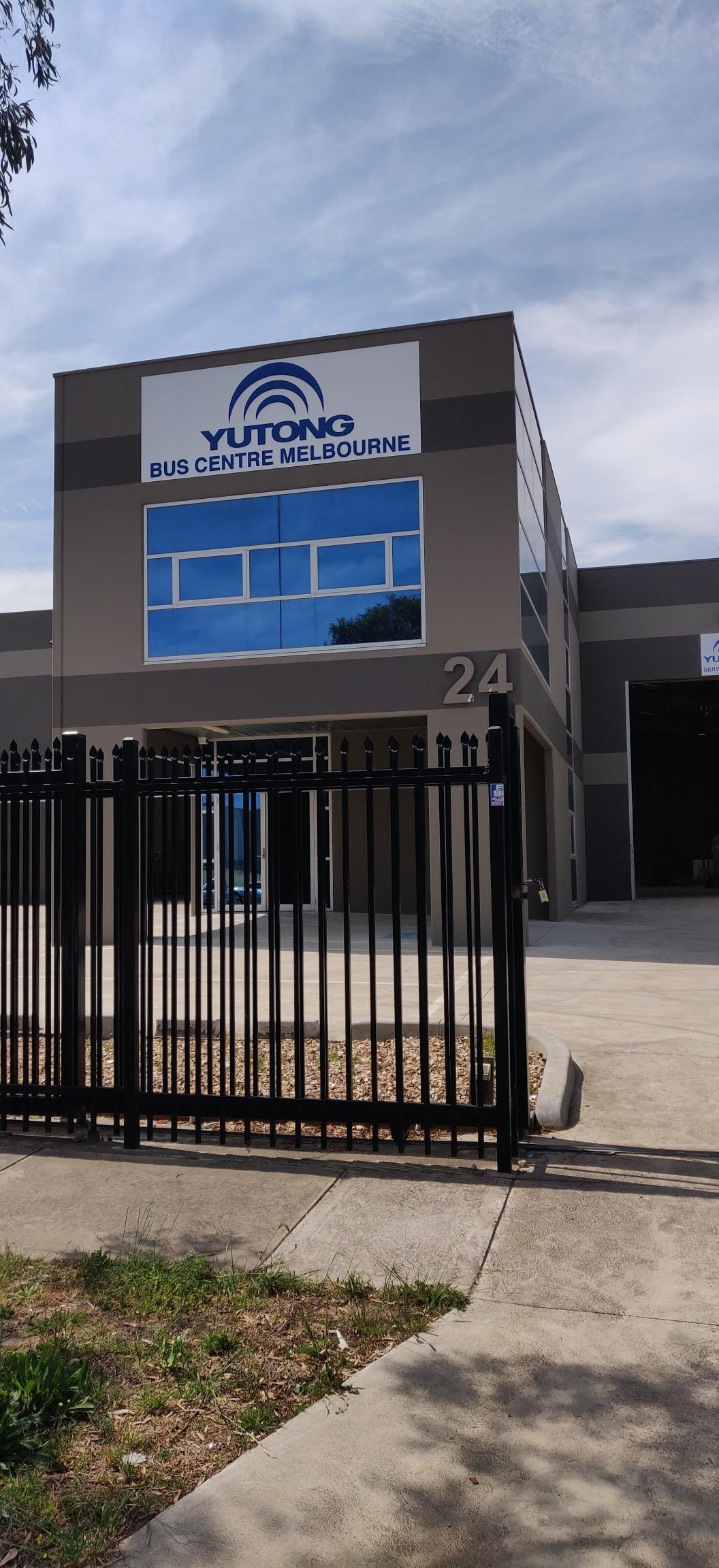 Yutong Bus Centre Melbourne