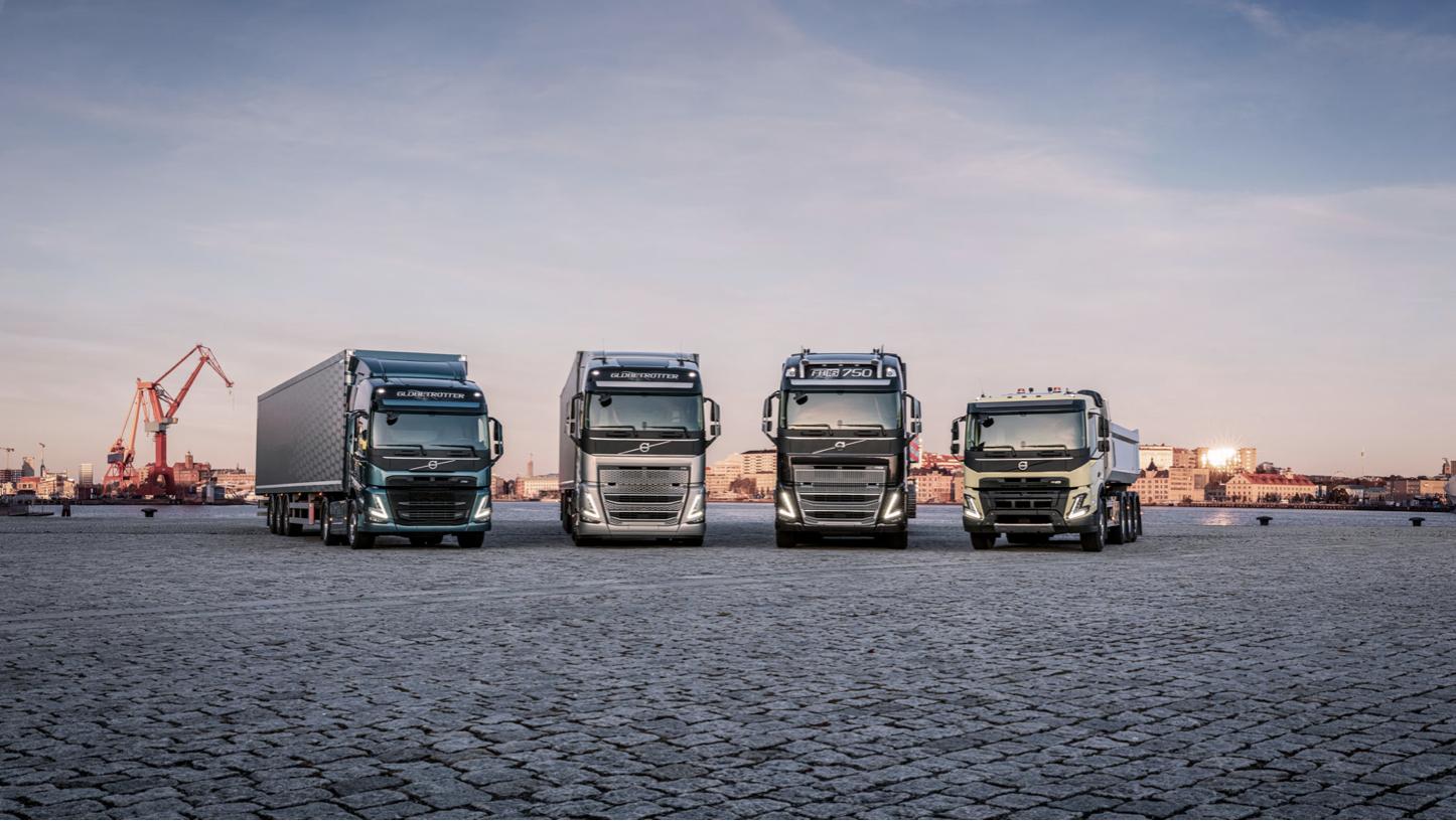New Volvo range 2020