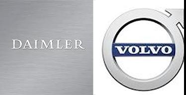 Daimler Volvo combined logo