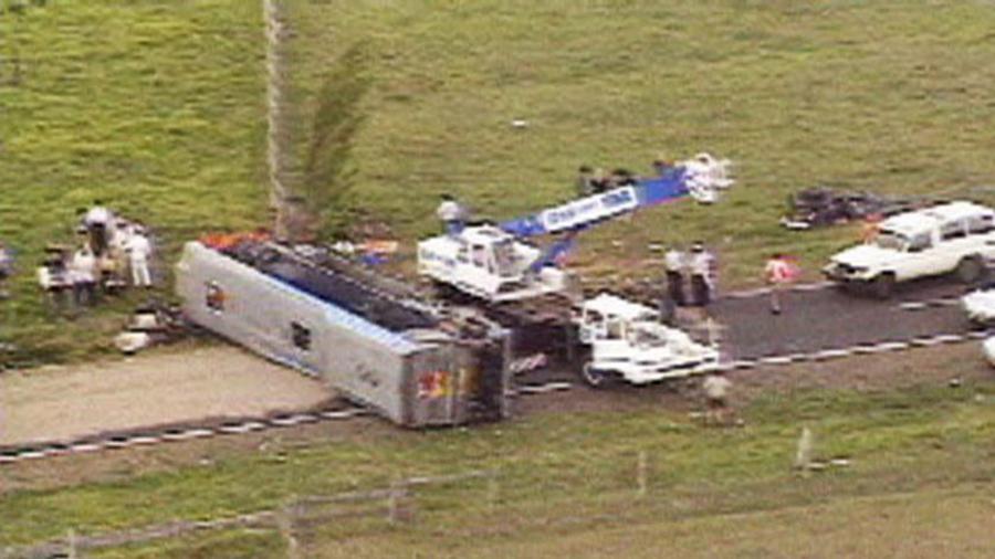 Grafton bus crash
