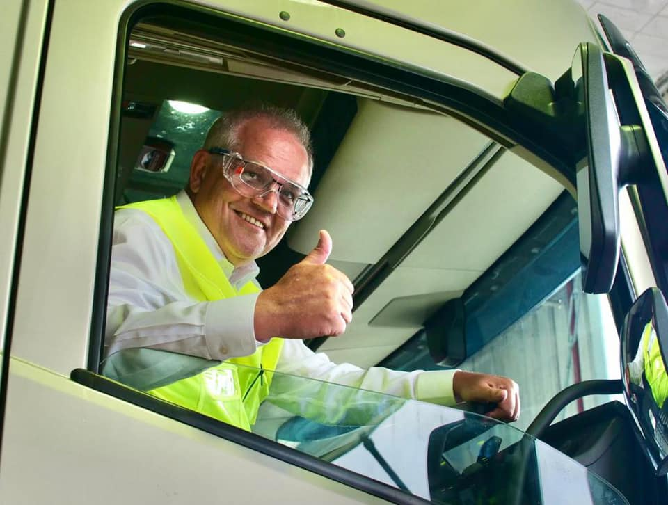 Morrison at Volvo Wacol