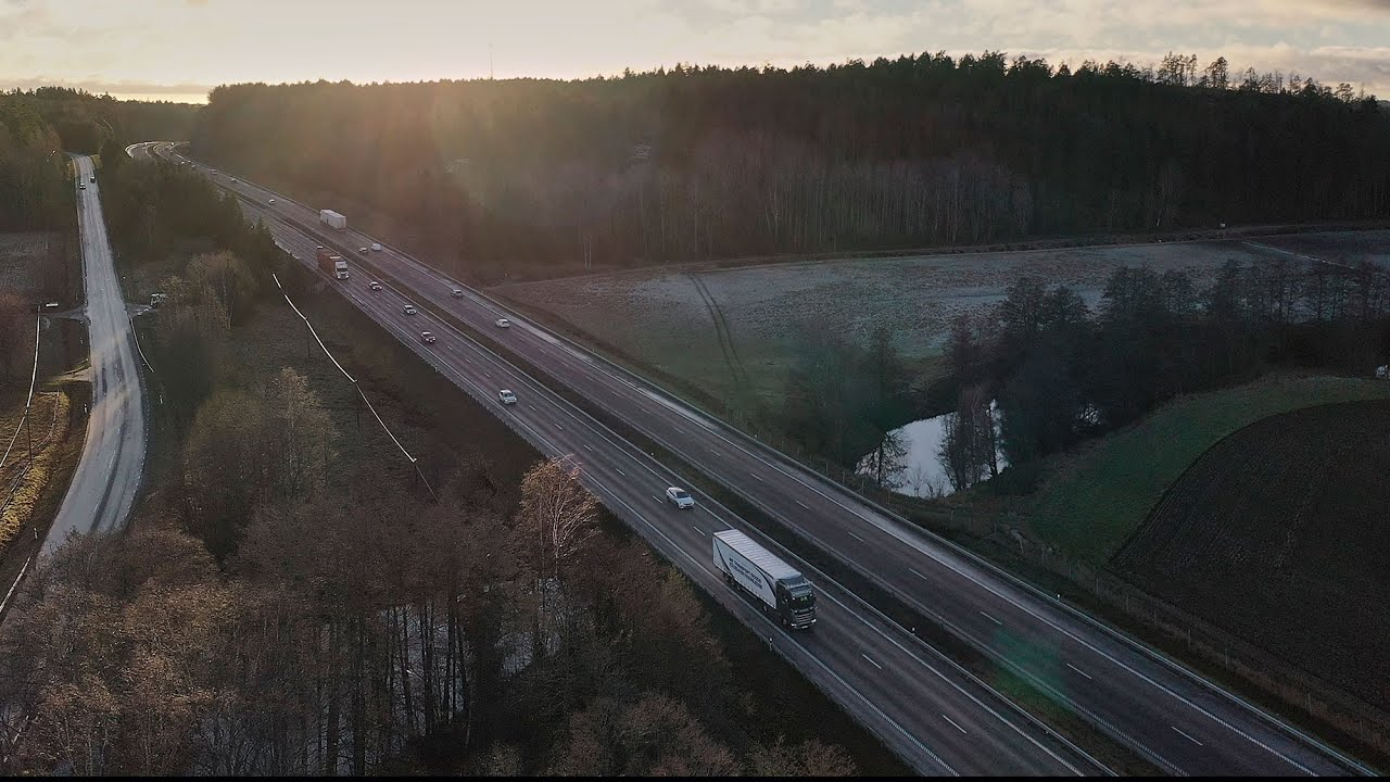 VIDEO- SCANIA TESTS AUTONOMOUS TRUCKS ON SWEDISH ROADS