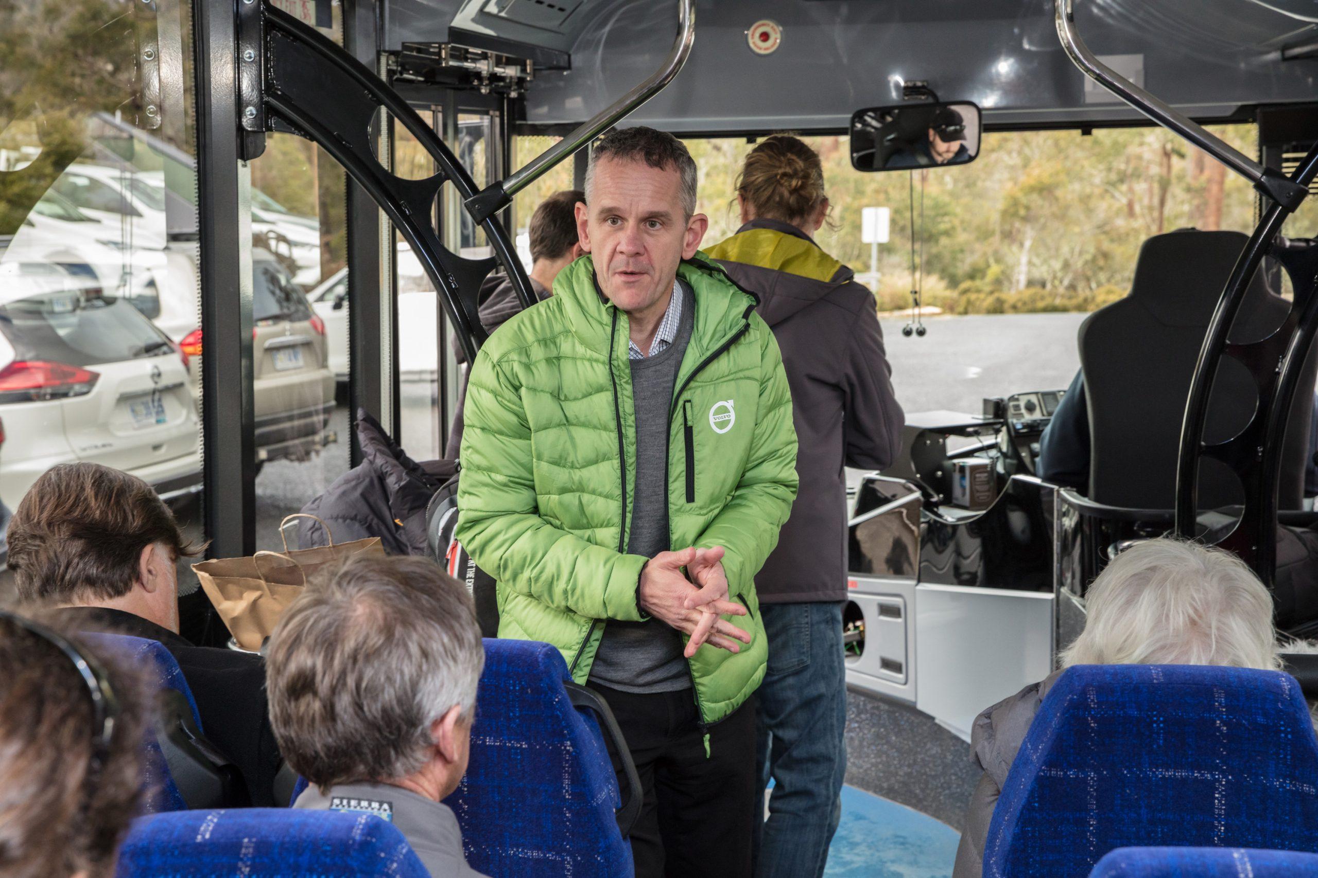 Dean Moule – Informing B5L Hybrid passengers