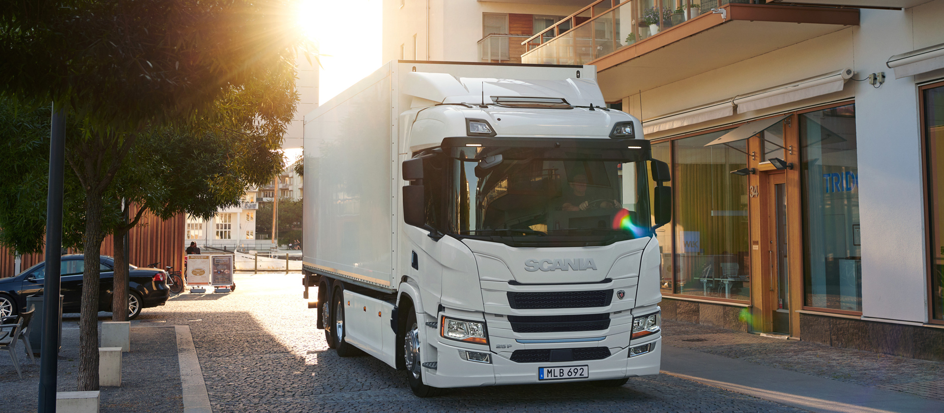Scania Battery Electric distribution truck