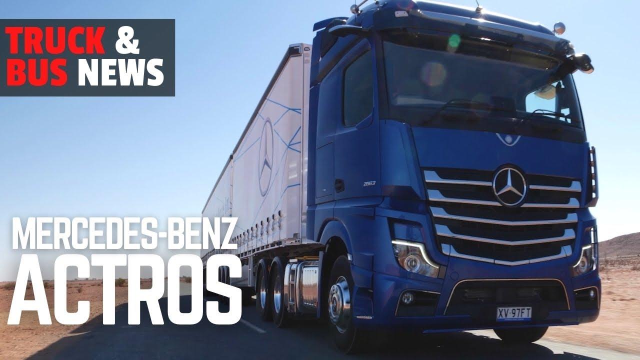 VIDEO REVIEW –  MERCEDES BENZ ACTROS